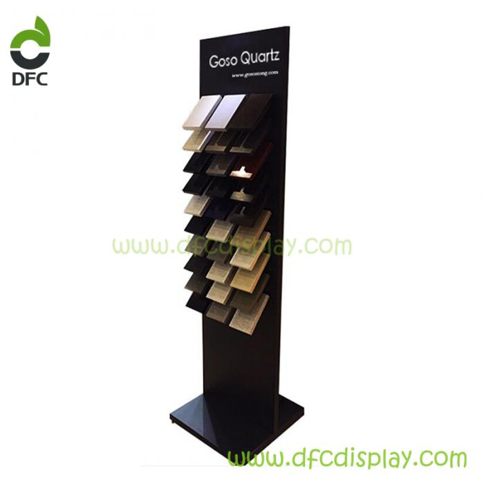 Marble upright display stand