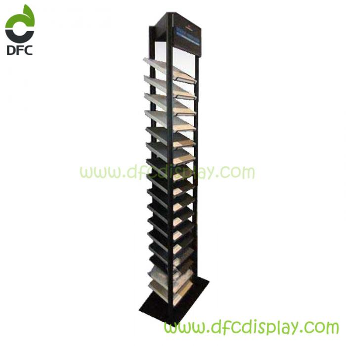 Triangle Stone Display Rack